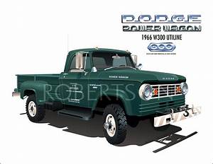 1966 W300 Dodge Power Wagon Blm Truck