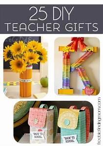 25 DIY Teacher Gifts