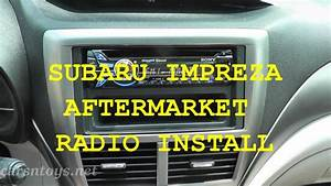 Subaru Aftermarket Radio Install With Bluetooth Hd