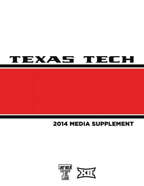 ISSUU - 2014 Texas Tech Football Media Supplement by Texas ...