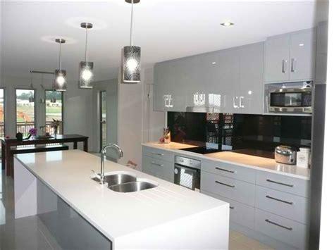 galley kitchen designs with island galley kitchens brisbane custom cabinets renovation