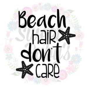 Beach SVG Hair Don't Care