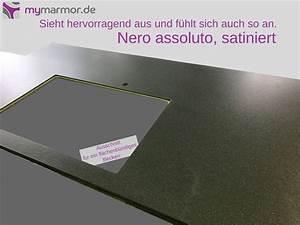 Nero Assoluto Satiniert : k chenarbeitsplatte aus granit ~ A.2002-acura-tl-radio.info Haus und Dekorationen
