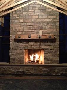 1000 images about barn beam fireplace mantels on With barn wood mantles