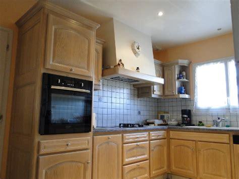 facade cuisine chene mobilier de cuisine en bois massif posé à dax dans les