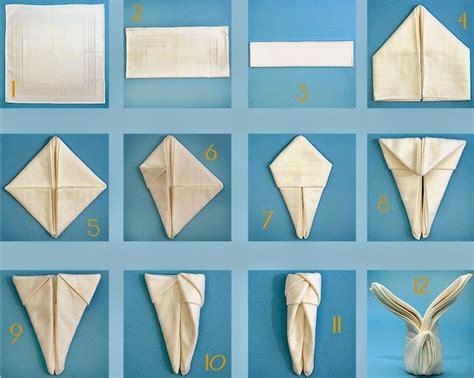servietten hasen falten osterhasen falten servietten osterhasen falten anleitung zum servietten falten f r sie