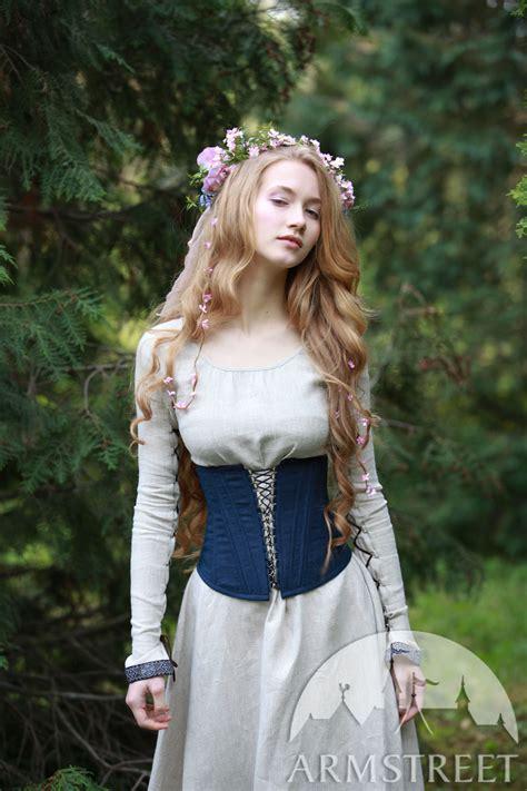 boned corset secret garden  sale   green