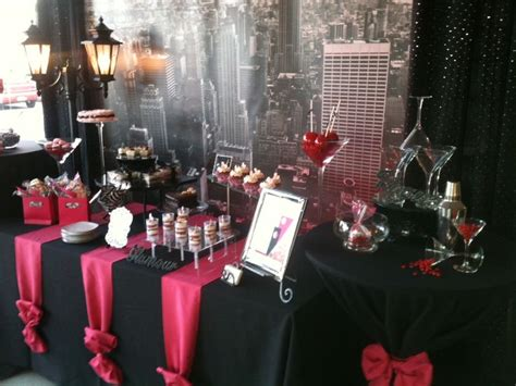 Sex In The City  Themed Candy Buffet  Bachelorette Party