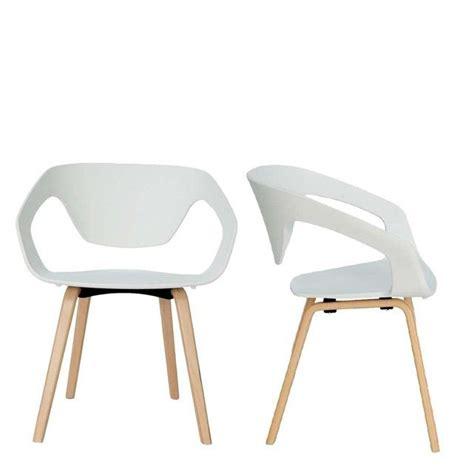 lot de 2 chaises design scandinave danwood drawer efp 0315 maxi robes