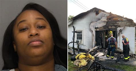 Nj Side Chick Burns Down Mans House After He Called For