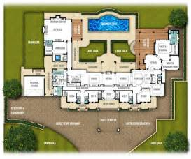 mansion home designs split level home plans quot the chateau quot by boyd design perth