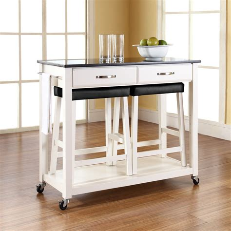 portable islands for the kitchen kitchen cart with stools kenangorgun com