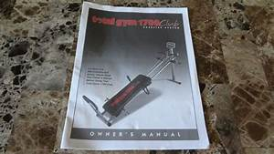 Chuck Norris Total Gym 1700 Club Exercise System Owner U0026 39 S