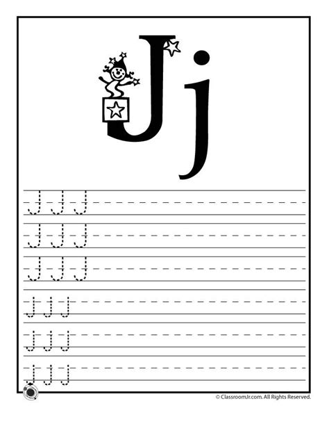 learning abcs worksheets learn letter  classroom jr
