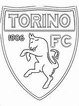 Torino Calcio Colorare Football Disegni Fc Stemma Gratis Stampare Juventus Voetbal Kleurplaat Coloring Colorear Kleurplaten Desenhos Escudo Dibujos Kolorowanka Scudetti sketch template