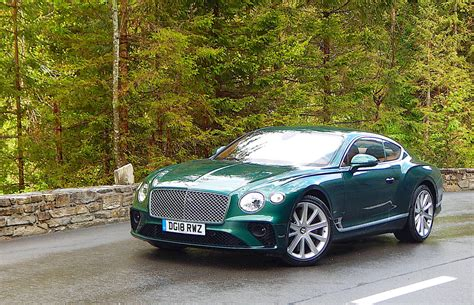 First Drive 2019 Bentley Continental Gt Driving