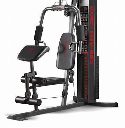 Gym Marcy Equipment Mwm Station Multifunctional Total