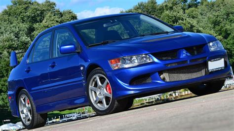 2005 Mitsubishi Lancer Evolution Viii 8 Electric Blue