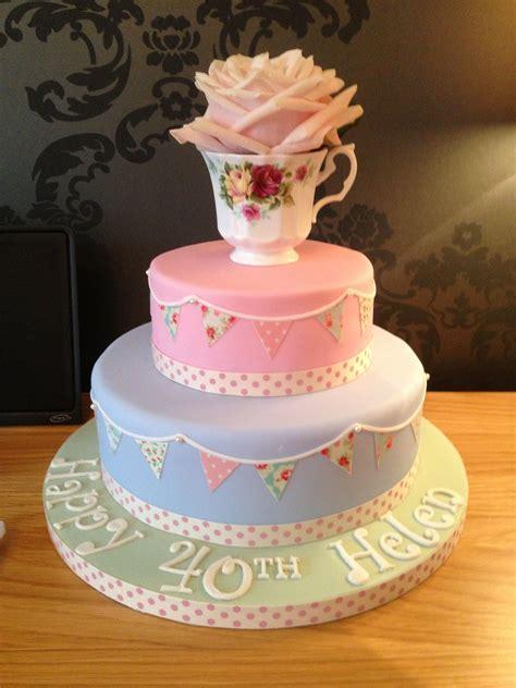cath kidstonvintage style cake  birthday vintage
