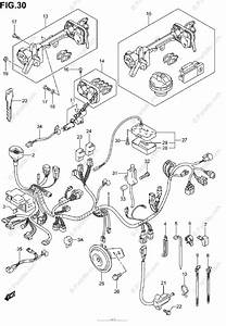 Suzuki Scooter 2003 Oem Parts Diagram For Wiring Harness