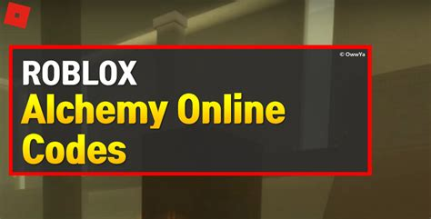 When other players try to make money during the game, these codes make it easy for you and you can reach what you need earlier with leaving others your behind. Roblox Alchemy Online Codes (April 2021) - OwwYa