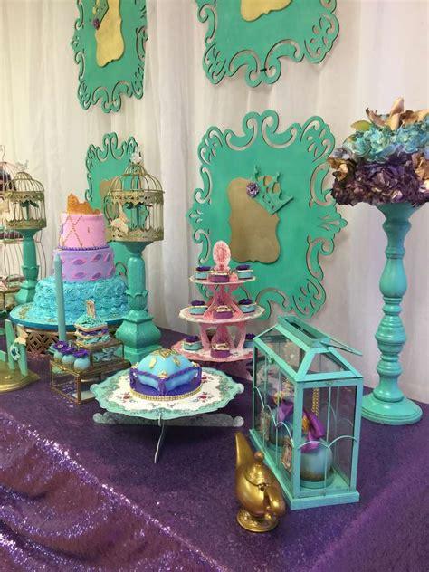 jasmine aladdin birthday party ideas photo