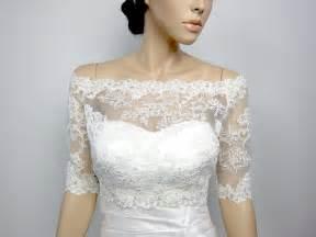 wedding dress boleros and shrugs shoulder alencon lace bolero jacket bridal bolero wedding
