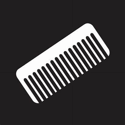 Comb Symbol Icon Sign Vector