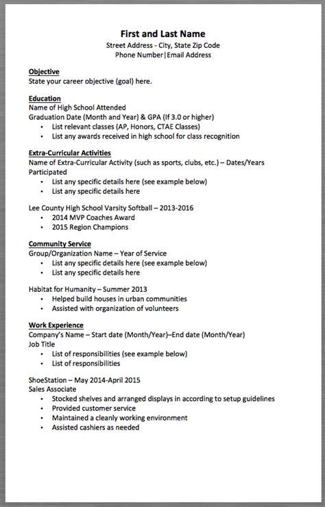 Basic Resume Setup by Basic Resume Template And Last Name Address