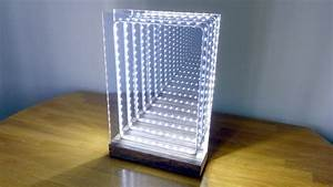 How to Make a Modern LED Infinity Illusion Mirror - YouTube