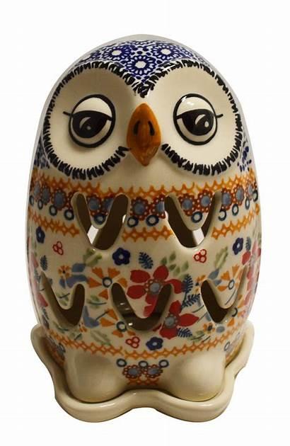 Owl Illuminated Pottery Polish Owls Speed