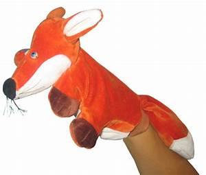 Marionnette à Main : marionnette renard marionnette 5 doigts renard ~ Teatrodelosmanantiales.com Idées de Décoration