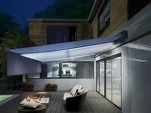 Store électrique Terrasse : beau store de terrasse electrique 0 eclairage led et ~ Premium-room.com Idées de Décoration