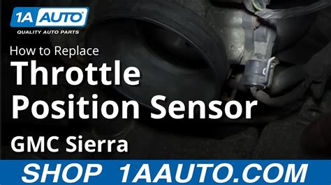 install replace throttle position sensor chevy