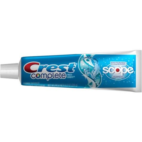 crest complete whitening plus scope cool peppermint flavor
