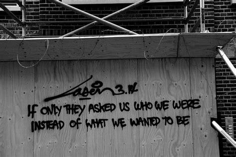 graffiti words ideas  pinterest banksy quotes