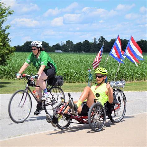 Bike Pic Jan 25, Ride Across Iowa, Announcement Party
