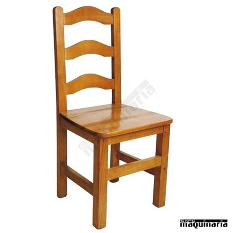 chaise bar vintage silla madera de pino colores miel o nogal 1f493