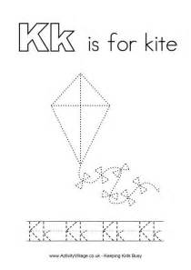 Printable Letter K Tracing Worksheets