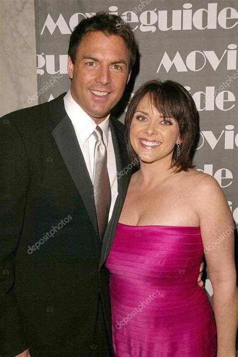 mark steines  leanza cornett stock editorial photo