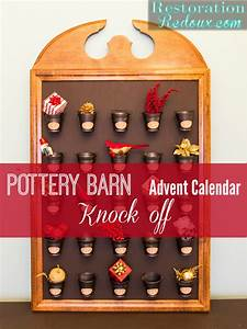 Pottery Barn Advent Calendar Knock Off - Daily Dose of Style