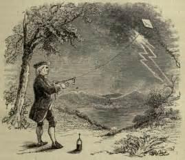 Image result for Benjamin Franklin flew a kite f