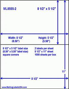 Half sheet labels blank half sheet labels similar to for Half page shipping label template