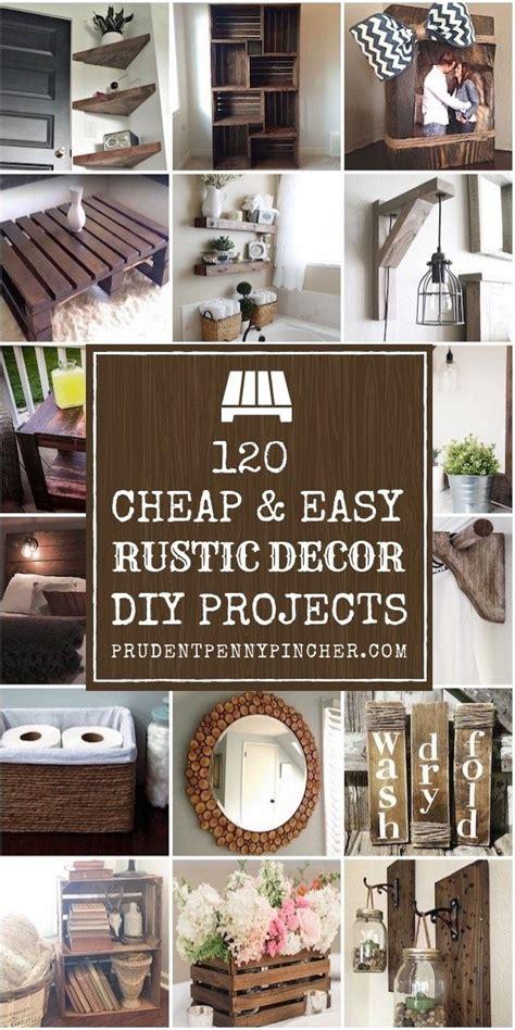cheap  easy rustic diy home decor diy crafts