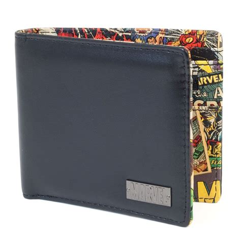 perfect gift for comic book fan marvel interior print wallet great men 39 s gift for a