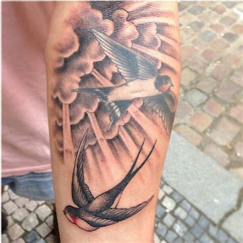 sleeve clouds tattoos