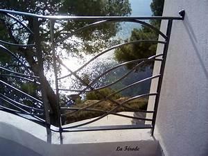 Garde De Corps Terrasse : garde corps en fer forg mod le vague pour terrasse ou ~ Melissatoandfro.com Idées de Décoration