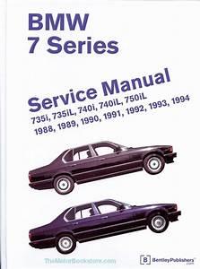 Bmw 7 Series  E32  Repair Manual  735i  735il  740i  740il