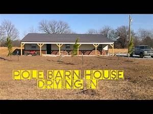 how to build a pole barn house for cheap youtube With build a pole barn cheap