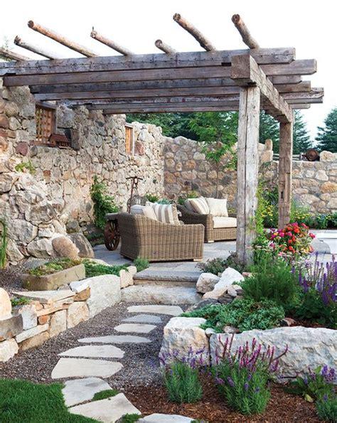 ideas de disenos rusticos  decorar tu jardin fc